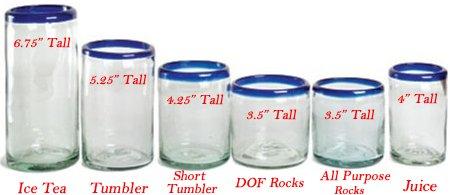 Tumber, Ice Tea, High Ball, Rocks, Juice glass