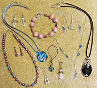 Agua Caliente Creations Hand Made Jewelry Group Image